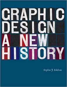 Graphic Design: A New History is a book written by Stephen J Eskilson. The book was published by the Yale University Press and has been edited by the author himself. The book talks about the history of graphic design. The time period in the book starts from the 19th century and moves on to this day. The evolution of graphic design in the whole century has been portrayed in the book. The author has talked about the effect of Victorian's rulers and reformers on graphic design .they had a great impact on the designing patterns and methods.