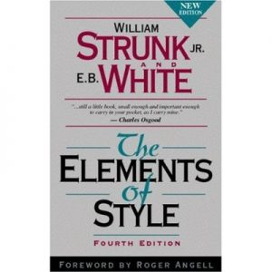 The Elements of Style Pdf 4th Edition By Willliam Strunk Jr