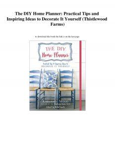 diy home planner pdf